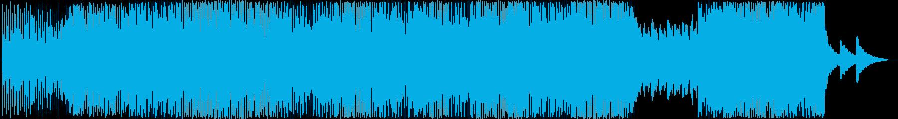 Cartoon 技術的な 感情的 ...の再生済みの波形