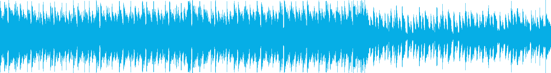 【コーラスなし/ループ】EDMアンセムの再生済みの波形