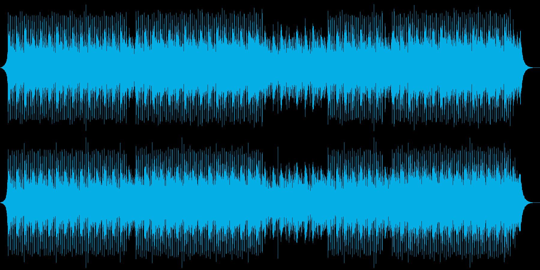 落ち着いたの再生済みの波形