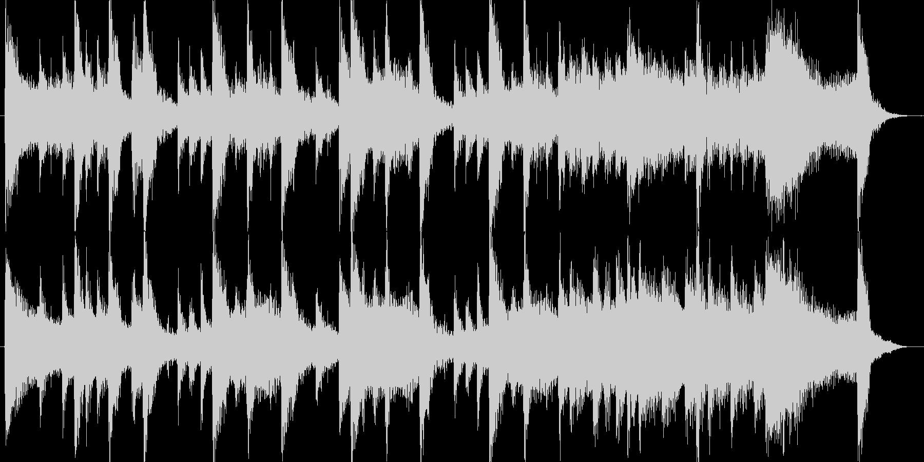 高音質♪和風出囃子ジングルインディアン風の未再生の波形