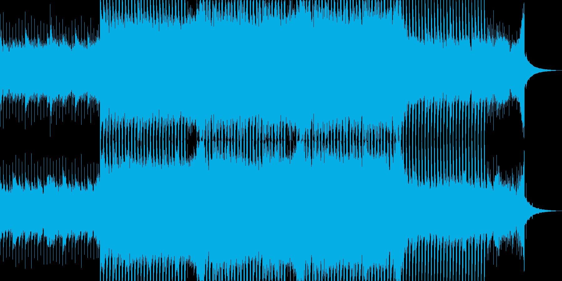 企業VP系24、爽やかギター4つ打ち3aの再生済みの波形