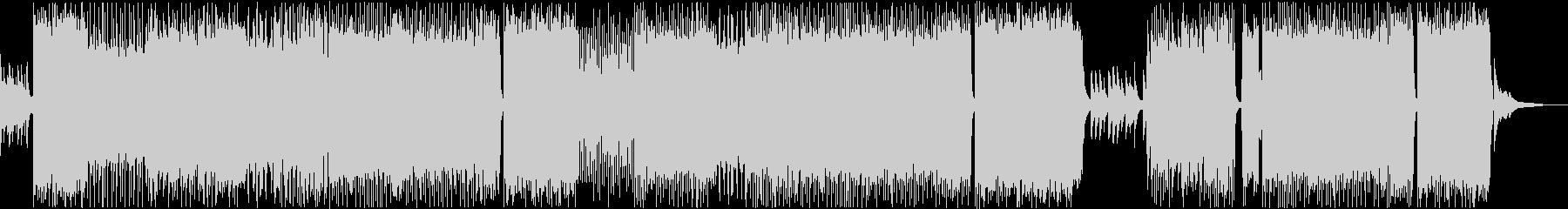 エンディング爽やかで切ないアニソンBGMの未再生の波形