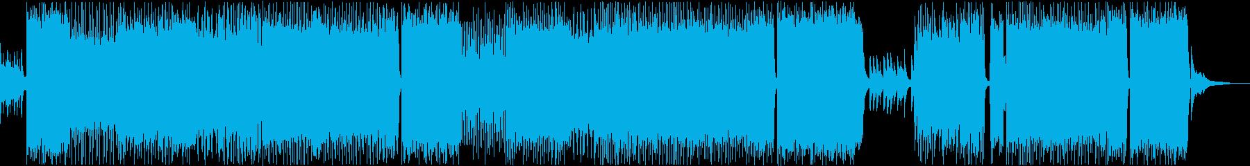 エンディング爽やかで切ないアニソンBGMの再生済みの波形