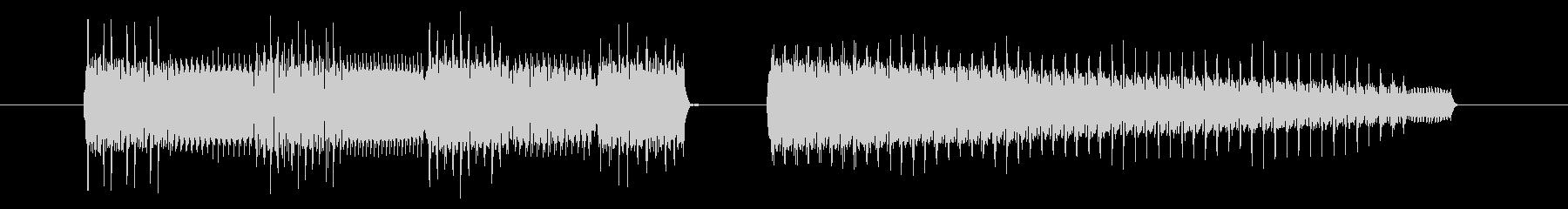 GB系風和風ゲームのジングルの未再生の波形