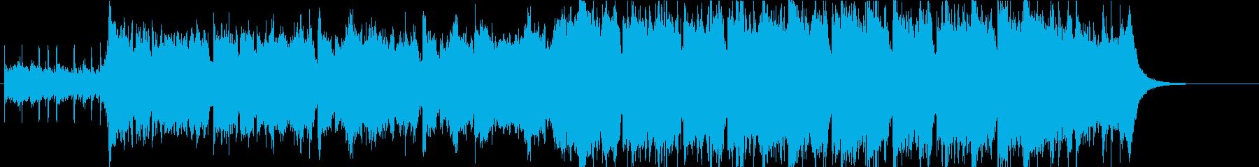 幻想的で壮大なオーケストラオープニングaの再生済みの波形