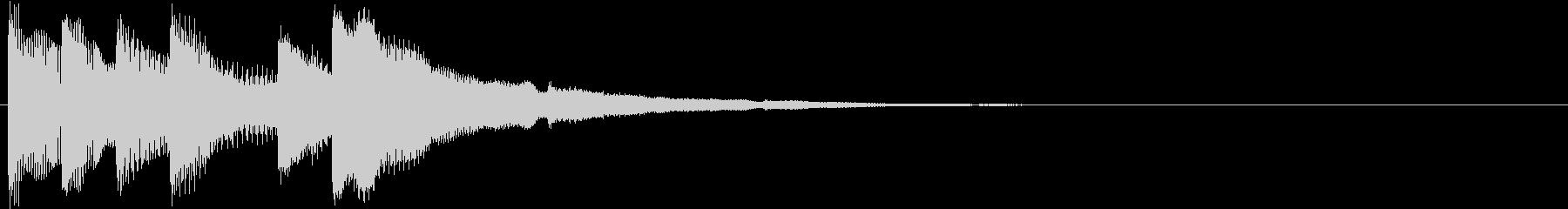 ティロリリッリリン 下降(トピックス)の未再生の波形