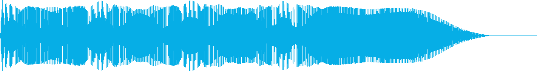 Yeah イェイイェーイ!!という効果音の再生済みの波形