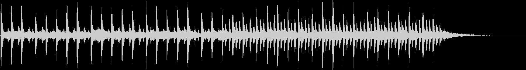 神秘的なエレクトロ003の未再生の波形