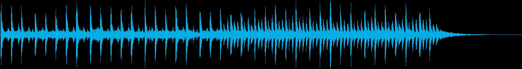 神秘的なエレクトロ003の再生済みの波形