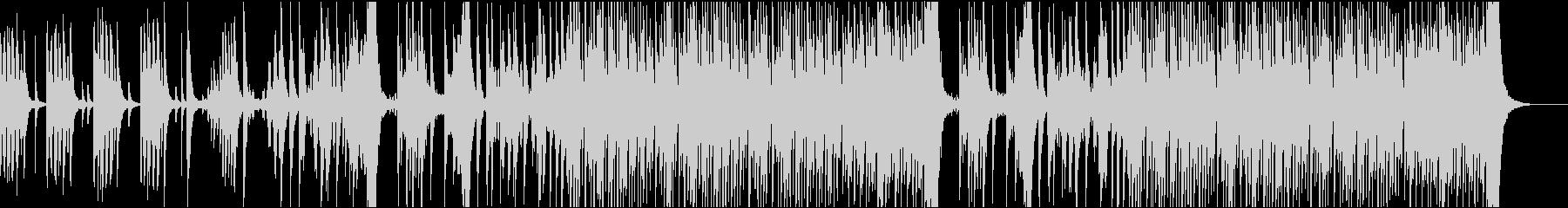 和太鼓、三味線、龍笛によるBGMの未再生の波形