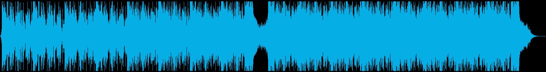 かっこいいシネマティック(映画系)BGMの再生済みの波形
