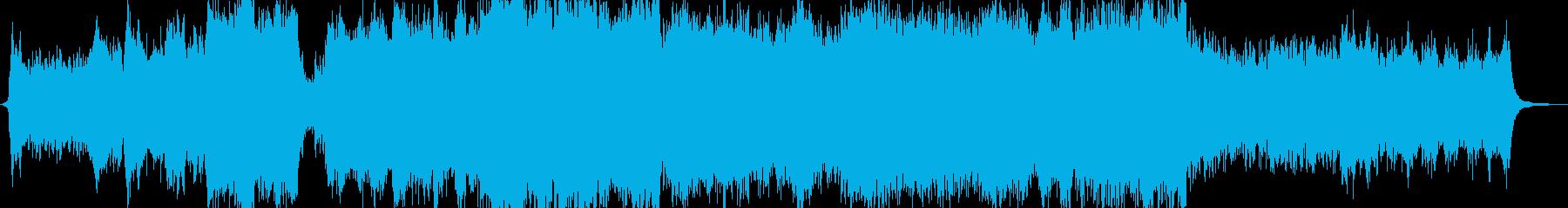躍動感あるオーケストラサウンドの再生済みの波形