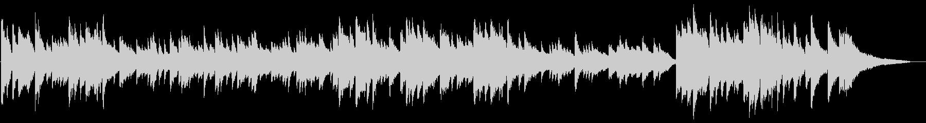 ショックなことがあった時な ピアノソロの未再生の波形