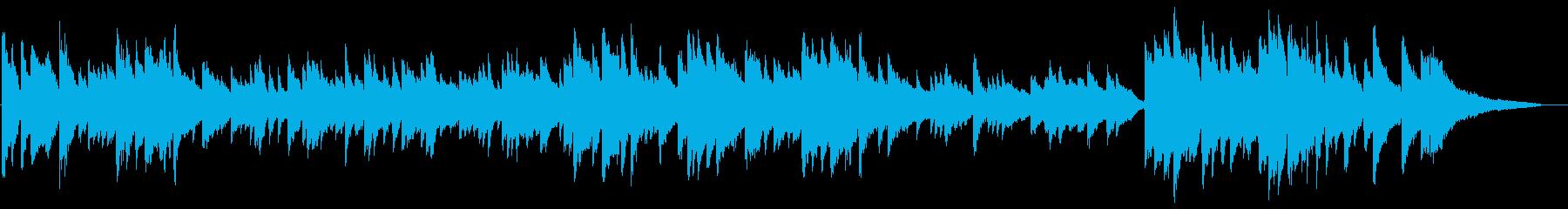 ショックなことがあった時な ピアノソロの再生済みの波形