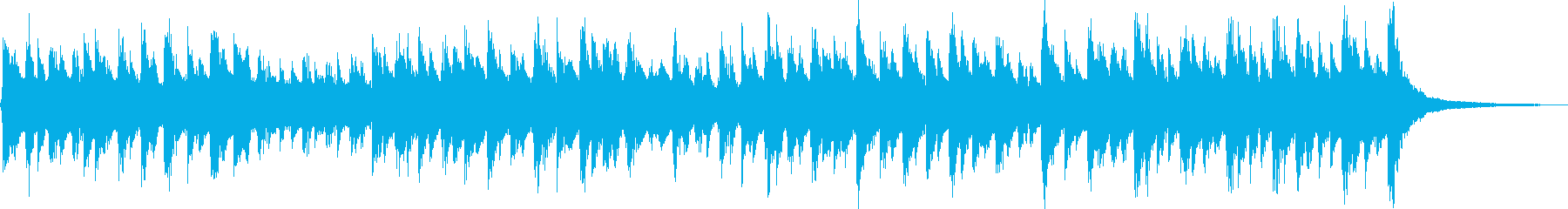 Comical music box jingle for children's reproduced waveform