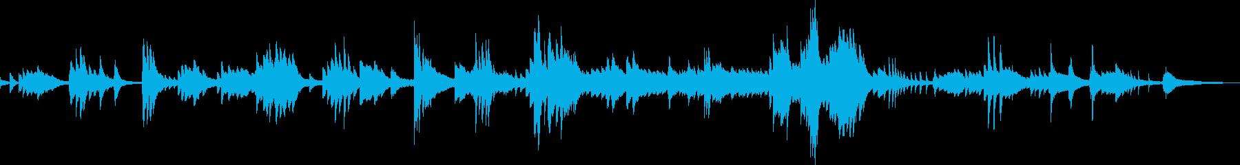 戻ってきた穏やかな日常(ピアノ)の再生済みの波形