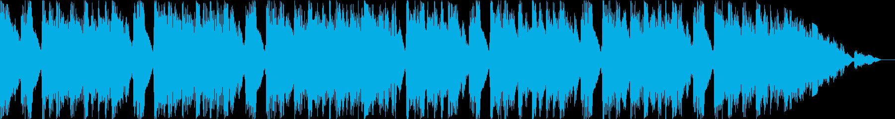 ピアノとストリングス主体の爽やかポップスの再生済みの波形