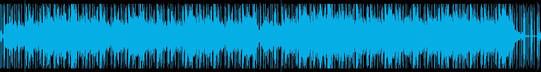 不気味不穏怪奇を思わせるホラーBGM Cの再生済みの波形