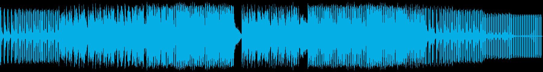 テクノ。フィルター溝。繰り返します...の再生済みの波形