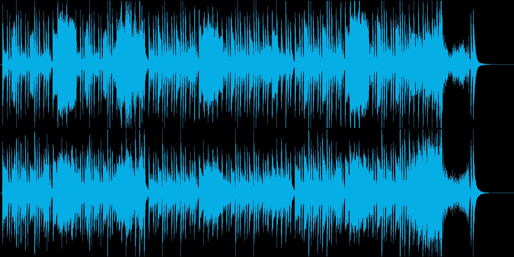 妖精達の散歩の再生済みの波形