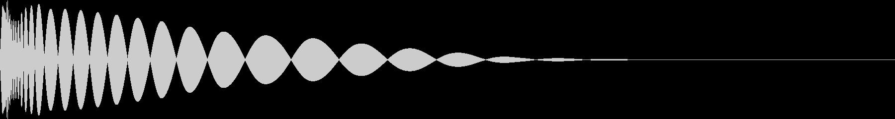 DTM Kick 30 オリジナル音源の未再生の波形