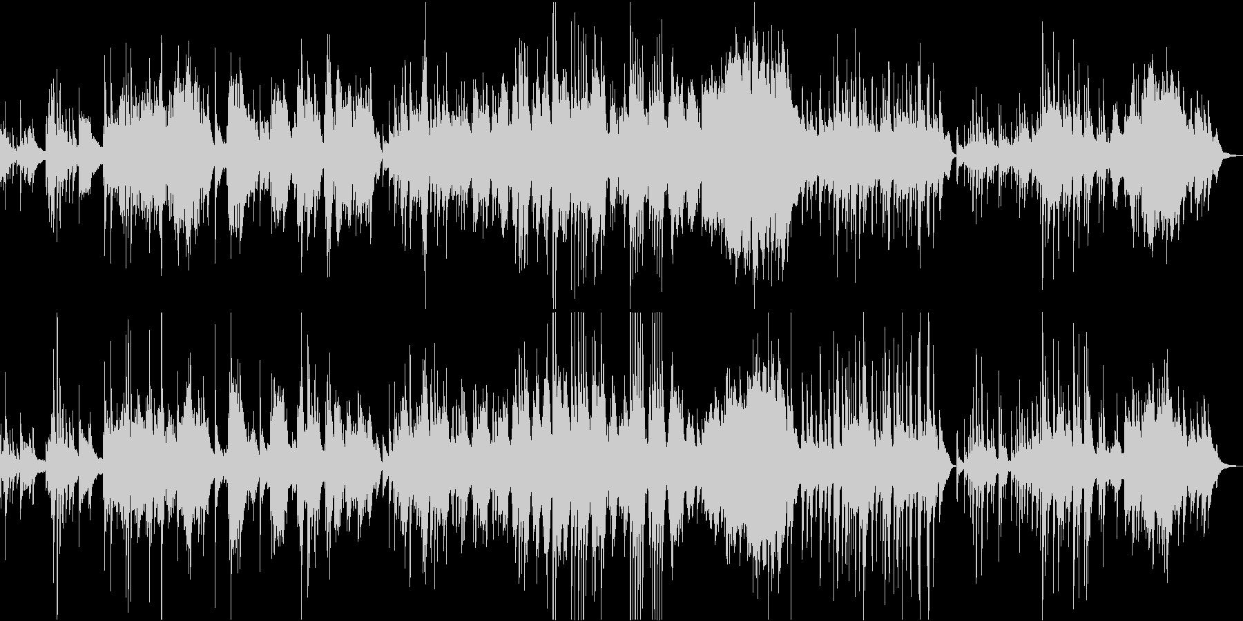 星降る夜のセレナーデの未再生の波形