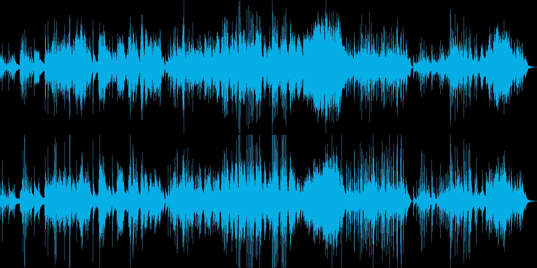 星降る夜のセレナーデの再生済みの波形