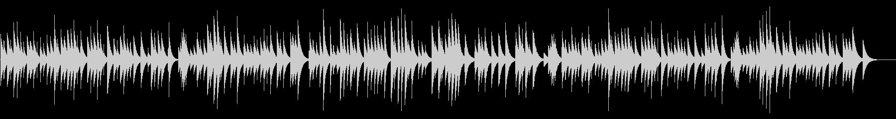 亡き王女のためのパヴァーヌ カード式オルの未再生の波形