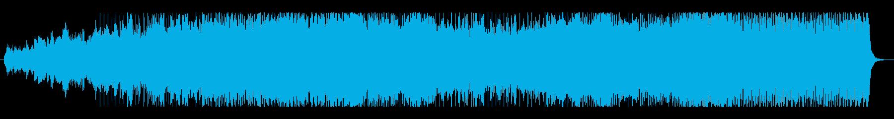 映画風・ケルトオーケストラ・トレーラーの再生済みの波形