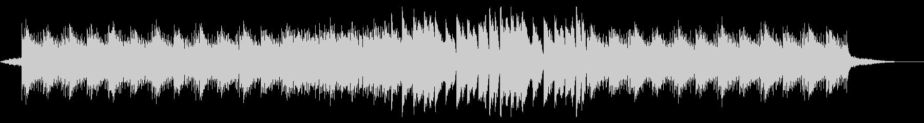 幻想的で疾走感のあるピアノ曲の未再生の波形