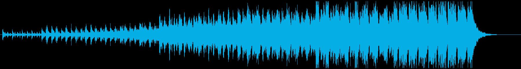 ハンス・ジマーを彷彿とさせるストリングスの再生済みの波形