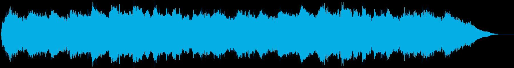 フィールド 2 の再生済みの波形