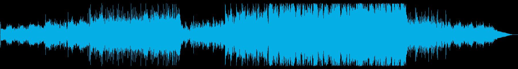 メランコリックで切ないエレクトロニカ風の再生済みの波形