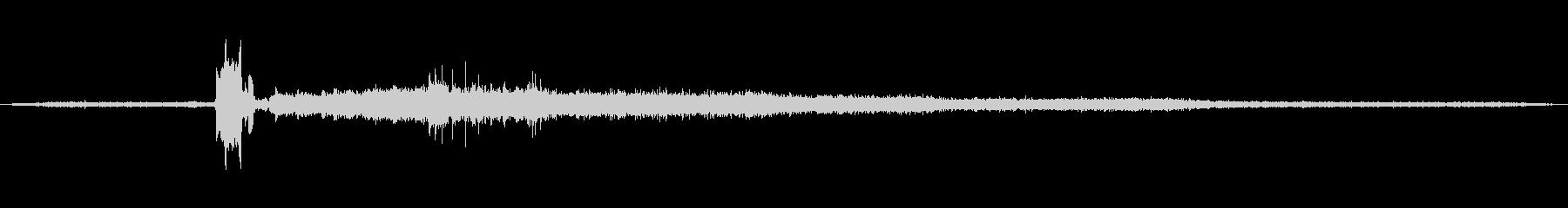 中:シングルクイックコピー、オフィ...の未再生の波形