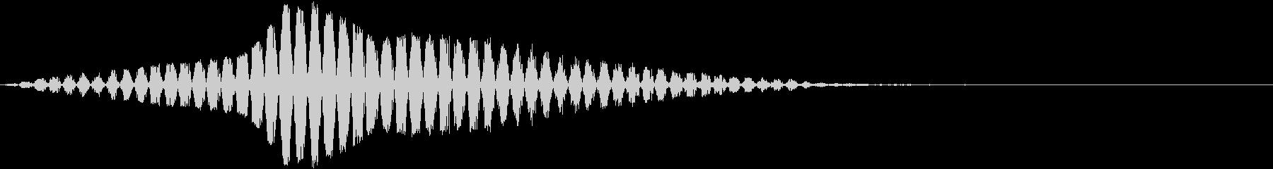【SF演出】移動_23 キュイーンッ・・の未再生の波形