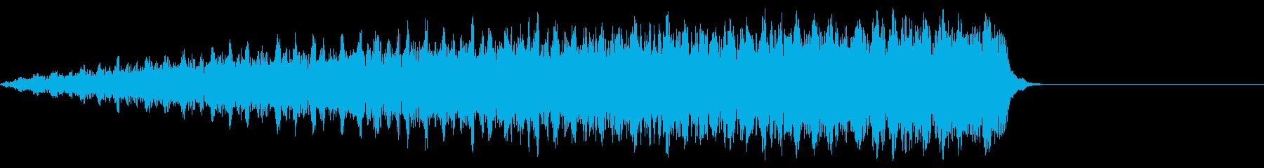シュギューンシュギューンの再生済みの波形