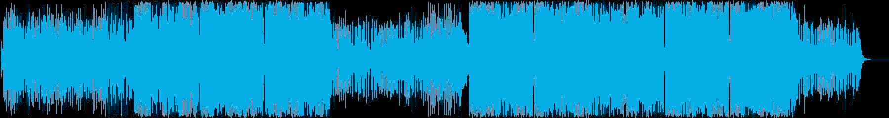 PVなど天体観測-希望-シンセエレクトロの再生済みの波形