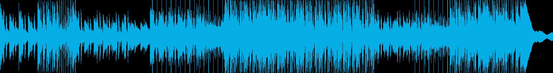 ベース、エレキギター、アコースティ...の再生済みの波形