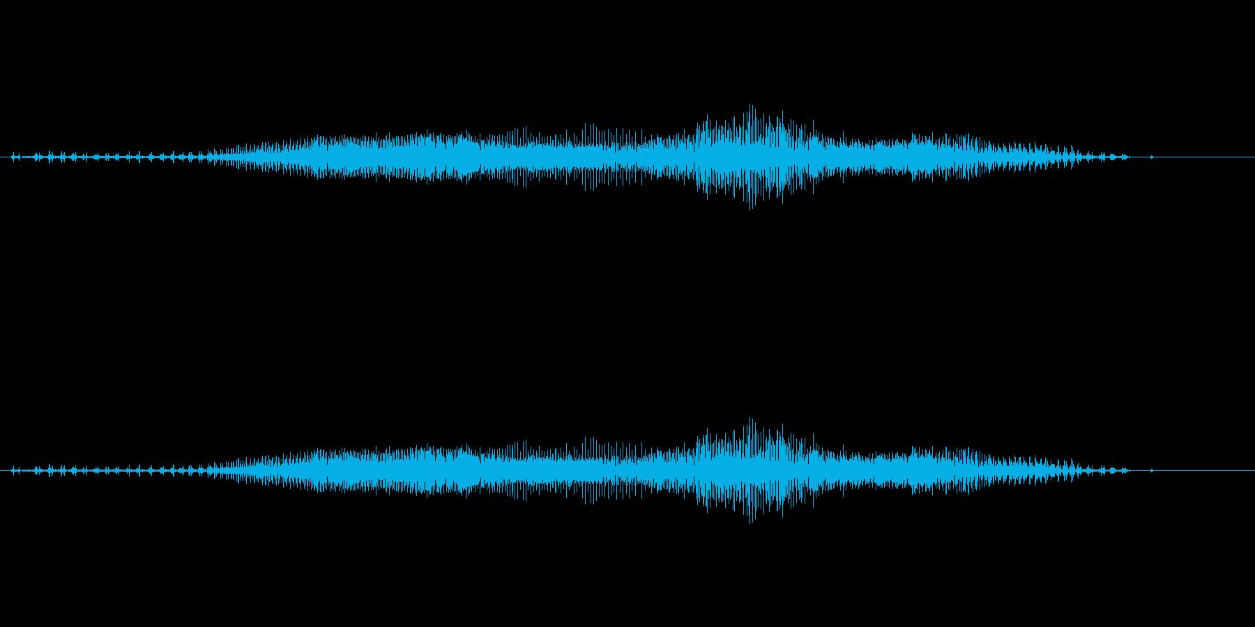 チャック_ファスナー_ジッパー開閉_08の再生済みの波形