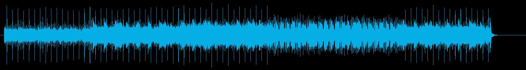 淡々とした無機質なマイナー・ブリッジの再生済みの波形