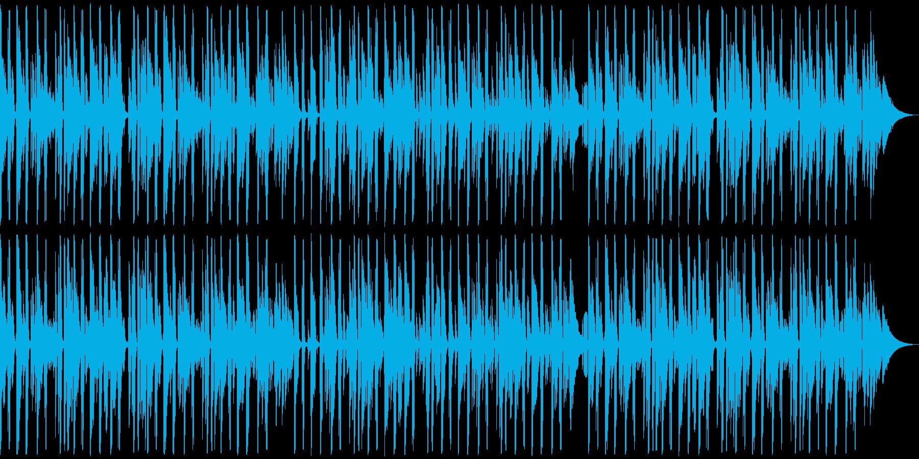 お洒落でかっこいいピアノのジャズファンクの再生済みの波形