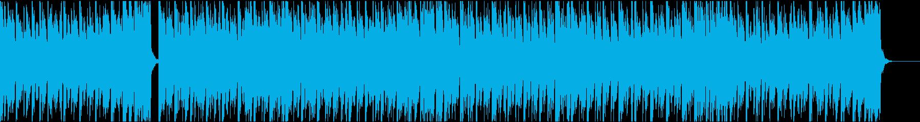 13秒でサビ、不安定、電子音ダークの再生済みの波形