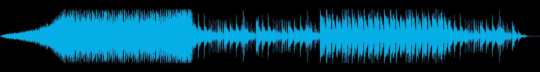【シネマティック・ゲーム】緊迫シーンの再生済みの波形