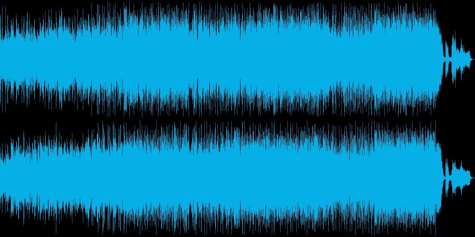 悲しい雰囲気のK-POP風バラード3の再生済みの波形