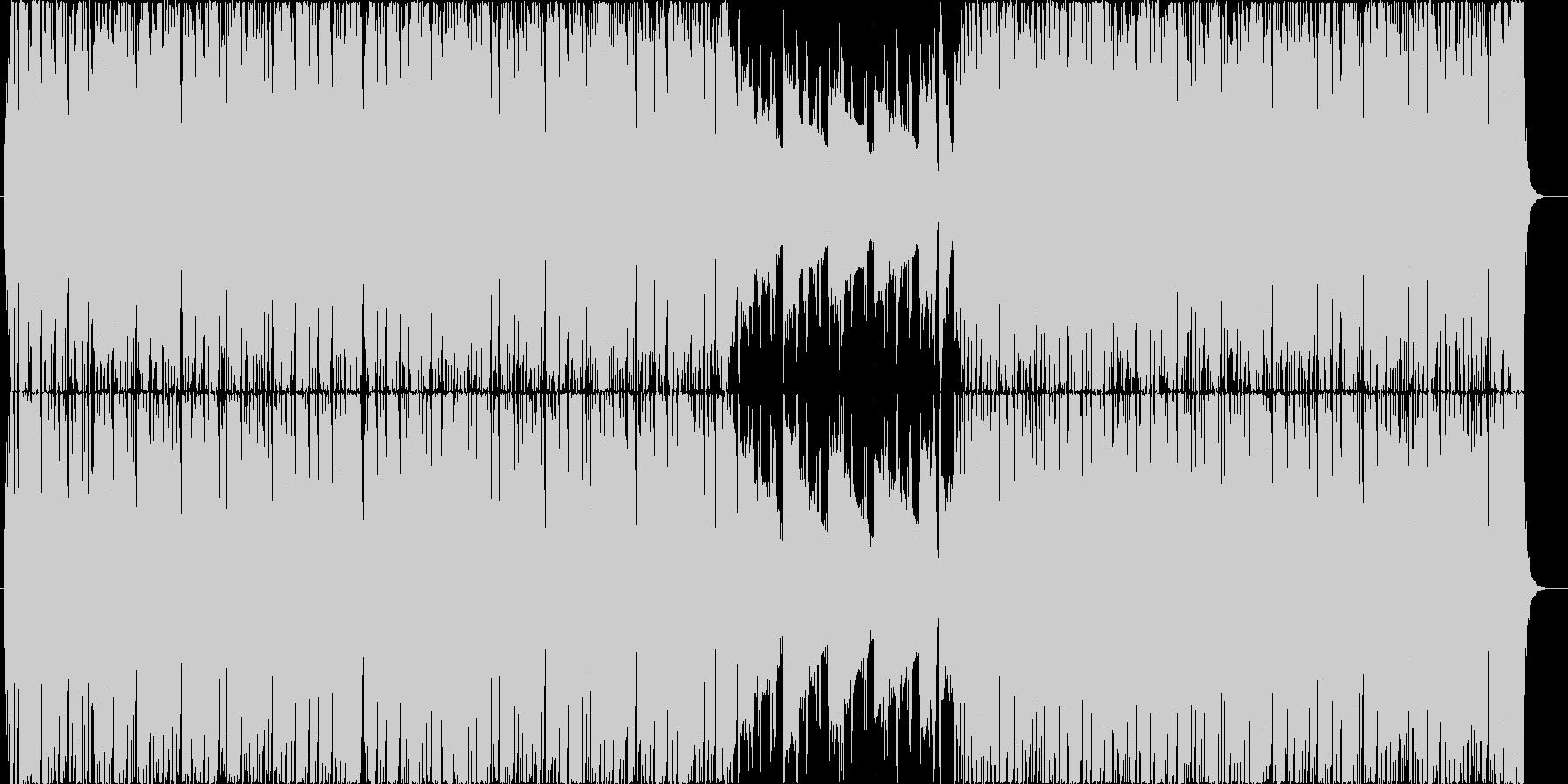 フュージョン風の曲です。の未再生の波形