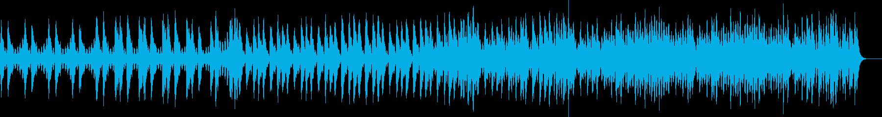 素早く作業を進めたくなるストリングス曲の再生済みの波形