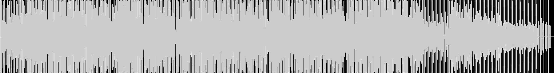 ハウス。シーケンサー。ランニング。...の未再生の波形