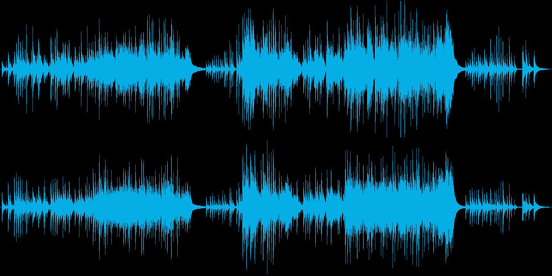 切なくも美しいピアノアレンジの再生済みの波形