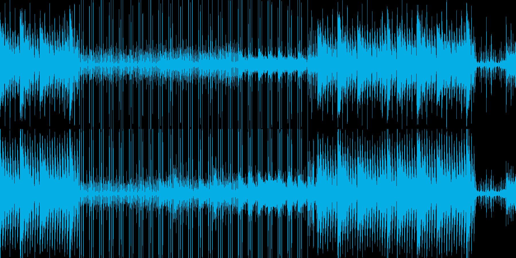 80-90年代風で懐かしい感じのポップスの再生済みの波形