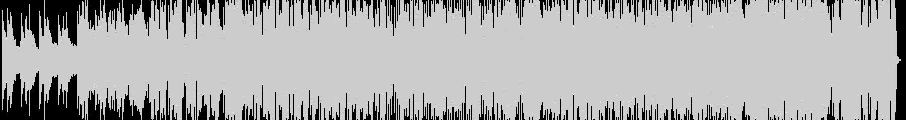 トロピカルサウンドが特徴的な歌モノEDMの未再生の波形
